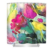 Flower Symphony 02 Shower Curtain