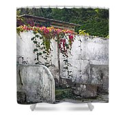 Flowered Remnants Shower Curtain