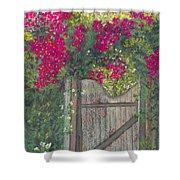 Flowering Gateway Shower Curtain