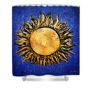 Flowering Sun Shower Curtain