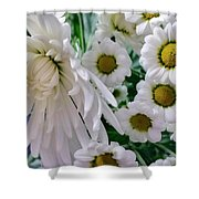 Flowering Together Shower Curtain