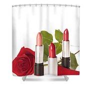 Flowerlipstick Shower Curtain