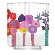Flowers 1 Shower Curtain