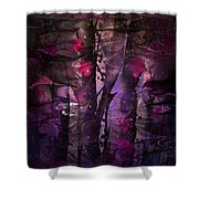 Flowers Among Thorns Shower Curtain