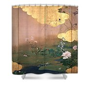 Flowers And Birds Of The Four Seasons Shower Curtain
