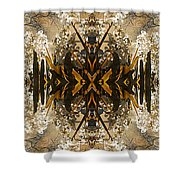 Flowers And Trees Shower Curtain