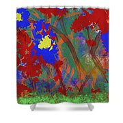 Flowers At Rest Shower Curtain