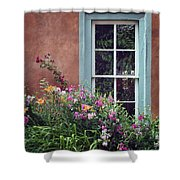 Flowers By The Window Shower Curtain