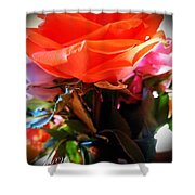 Flowers For A Loved One Shower Curtain