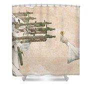 Flowers For Alderaan Shower Curtain by Eric Fan