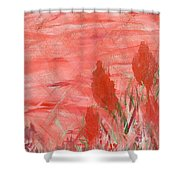Flowers For Melissa Shower Curtain