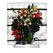 Flowers For My Petal Shower Curtain