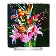 Flowers For You 1 Shower Curtain