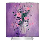 Flowers From The Field Shower Curtain