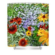 Flowers Galore 2 Shower Curtain