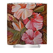 Flowers II Shower Curtain