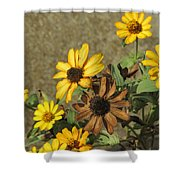 Flowers In Fall 1 Shower Curtain