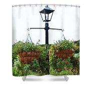 Flowers In Garden 4 Shower Curtain