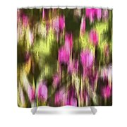 Flowers In Ink Shower Curtain