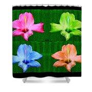 Flowers In Ireland Shower Curtain