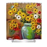 Flowers - Still Life Shower Curtain