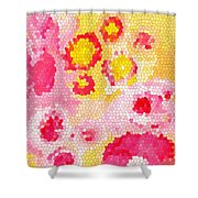 Flowers Vii Shower Curtain