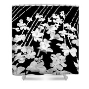 Flowery Flow Shower Curtain