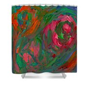Flowing Color Shower Curtain