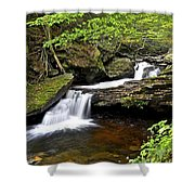 Flowing Falls Shower Curtain