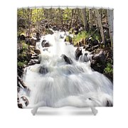 Flowing Fast Shower Curtain