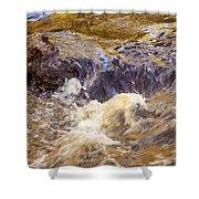 Flowing River Rapids Shower Curtain