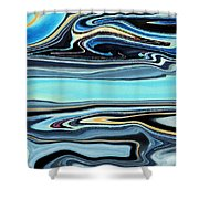 Flowing Tide Shower Curtain