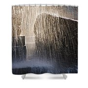 Flowing Water #2 Shower Curtain