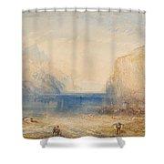Fluelen - Morning  Shower Curtain