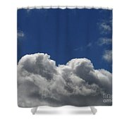 Fluffy Clouds 1 Shower Curtain