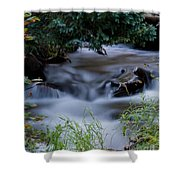 Fluid Beauty Shower Curtain
