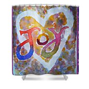 Fluid Joy Shower Curtain