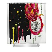 Fluidity 01 Elena Yakubovich Shower Curtain