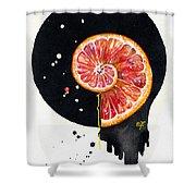 Fluidity 13 - Elena Yakubovich Shower Curtain