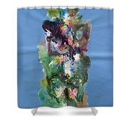 Fluidity 3 Shower Curtain