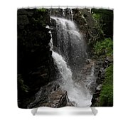 Flume Gorge Waterfall Nh Shower Curtain