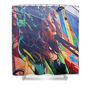 Flute Shower Curtain