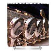 Flute Shower Curtain
