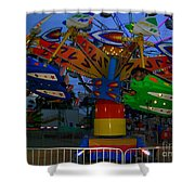 Fly 1 Shower Curtain