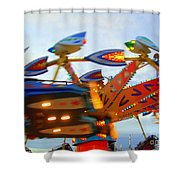 Fly 2 Shower Curtain