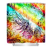 Fly Away 2 Shower Curtain