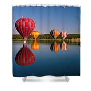 Fly New Mexico Shower Curtain