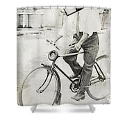 Fly Out Of Town Shower Curtain
