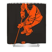 Flyers Shadow Player3 Shower Curtain