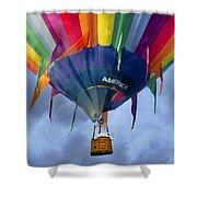 Flyin The Coop II Shower Curtain